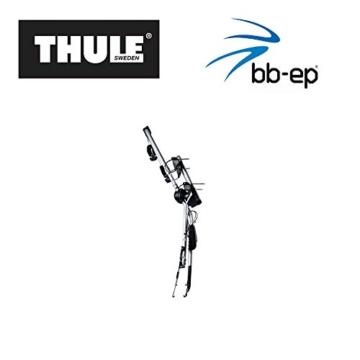 Einfacher Thule Heck-Fahrradträger 90505132 zum Transport von 2 Rädern auf der Heckklappe - passend für OPEL Corsa (D) - 3