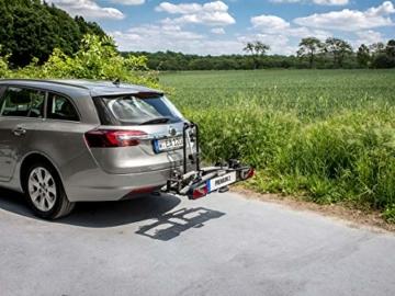 EUFAB 11521 Heckträger Premium ll für Anhängekupplung, für E-Bikes geeignet - 2