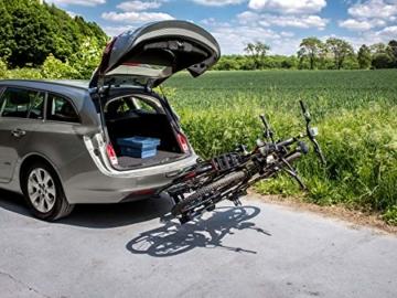 EUFAB 11521 Heckträger Premium ll für Anhängekupplung, für E-Bikes geeignet - 4