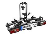 EUFAB 11523 Heckträger Premium ll Plus für Anhängekupplung, für E-Bikes geeignet - 1
