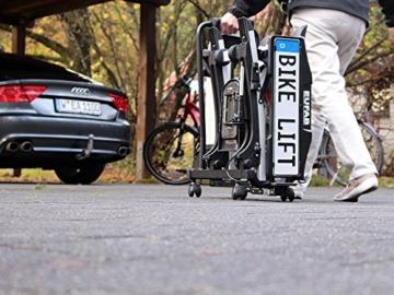 EUFAB 11535 Heckträger Bike Lift, für E-Bikes geeignet - 11