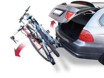 Menabo Race 2 Fahrrad Heckträger für Anhängerkupplung, 2 Räder, max. 30kg, klappbar - 3