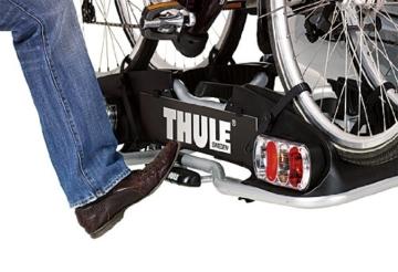 Thule 915020 EuroPower 915 Anhängerkupplungs-Fahrradträger, Silber, 2 Fahrräder - 3