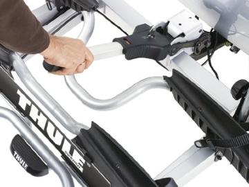 Thule 915020 EuroPower 915 Anhängerkupplungs-Fahrradträger, Silber, 2 Fahrräder - 4