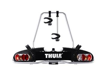 Thule 915020 EuroPower 915 Anhängerkupplungs-Fahrradträger, Silber, 2 Fahrräder - 1