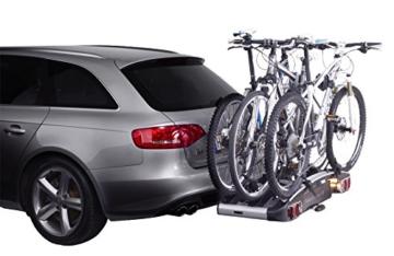 Thule 929020 EuroClassic G6 929, Anhängerkupplungs-Fahrräderträger, Silber, 3 Fahrräder - 5