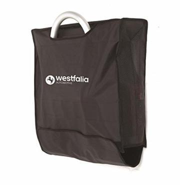 Westfalia BC 60 (Modell 2018) Fahrradträger für die Anhängerkupplung inkl. Tasche - Klappbarer Kupplungsträger für 2 Fahrräder - E-Bike geeigneter Universal-Radträger mit 60kg Zuladung - 4