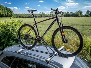 EUFAB 12014 Fahrradträgeraufsatz  Super Bike für stehende Montage - 4