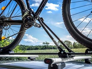 EUFAB 12014 Fahrradträgeraufsatz  Super Bike für stehende Montage - 5